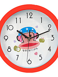 Modern/Contemporary Plastic Round Wall Clock