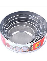 6 Suit Stainless Steel/Flour Sieve Icing Sugar Sieve Screen at 40 Mesh in The Kitchen