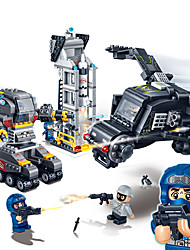 l'aigle de base 6207 de super géant série de jouets éducatifs cadeau jouet de garçon les briques des enfants petites particules de flic