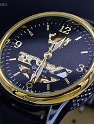Relogios mecânicas clássicas esportes esqueleto auto-liquidação automáticas dos homens relógios homens relógio marca de luxo