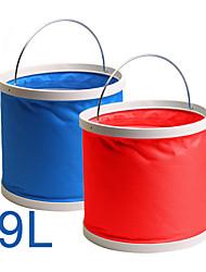 rundong® colección maletero del coche multifuncional balde pesca escalable 9l (selección de color)