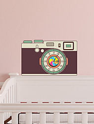 3D The Camera Wall Stickers Wall Decals