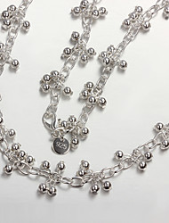 nuevos productos nuevos productos fiesta / trabajo / plata informal plateado declaración hermosas joyas hermosas joyas