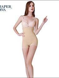 Shaperdiva Women's Sexy Cool Comfort Hi-Waist Thigh Slimmer Panties Shapewear