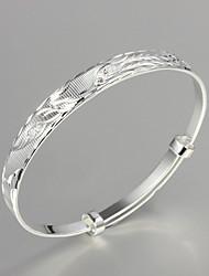 grande festa de promoção / trabalho / prata banhado ocasional bracelete de design simples