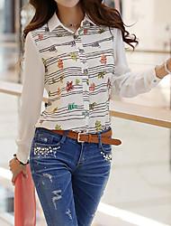 kvinnors nya temperament chiffong skjorta