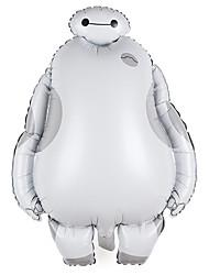 filme baymax alumínio balão branco dos desenhos animados