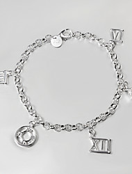 Casual Silver Plated Beaded Bracelet Friendship Bracelets New Products Hottest Fashion