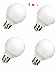 4pcs HRY® 9W E27 40XSMD2835 800LM LED Globe Bulbs LED Light Bulbs(220V)