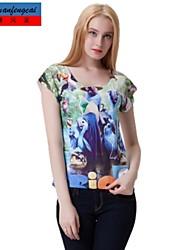 Druckt-shirt Mode cmfc®women nehmen Pullover Unter beiläufigen Allgleiches Stil Oberbekleidung