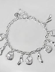 s925 prata pulseira link pulseiras da amizade pulseira Projeto grande promoção