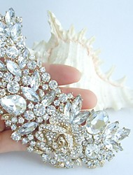Wedding Accessories Wedding Deco Gold-tone Pearl Rhinestone Crystal Bridal Brooch Bridal Bouquet Bridal Jewelry