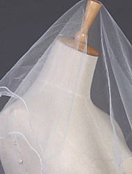 Wedding Veil One-tier Elbow Veils Pencil Edge