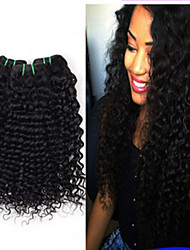3Pcs/Lot Brazilian Deep Wave Virgin Hair 100% Unprocessed Brazilian Deep Curly Virgin Hair