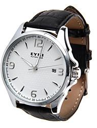 Watch Men's Leather Mechanical Wrist Watch