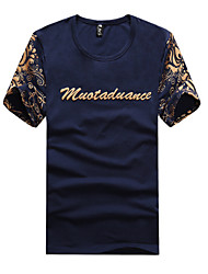 IAA Men's Casual Round Short Sleeve T-Shirts