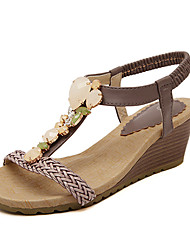 Women's Shoes Wedge Heel T-Strap Sandals Casual More Colors available