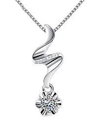 Love Story Women's Fashion 925 Silvering Necklace