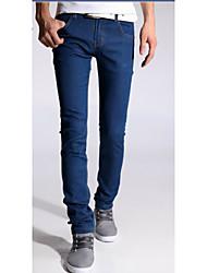 U-Shark Summer Hot Men's Casual&Fashion Stretch Slim Jeans with Korean Blue