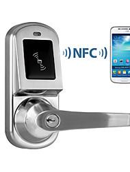 porta inteligente NFC bloquear compatível com android, diferente do que os8015 bloqueio agosto