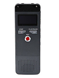 8GB High Quality Voice Recorder 618 Digital Voice Recorder Dictaphone Pen Voice Recorder Voice Activated with Mp3 Player
