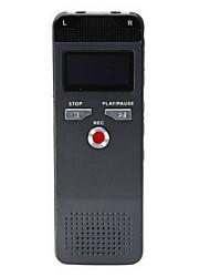 8gb alta calidad grabadora de voz 618 de voz digital de voz grabadora de voz de la pluma dictáfono grabador activado con reproductor de