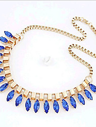 New Arrival Fashional Hot Selling Popular Crystal Necklace