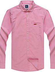 Men's Cotton Casual Long Sleeve Shirts