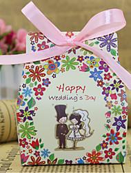 Bomboniere scatole - per Matrimonio/Anniversario/Addio al celibato/nubilato - Giardino/Floreale/Classico - Non personalizzato - di Carta