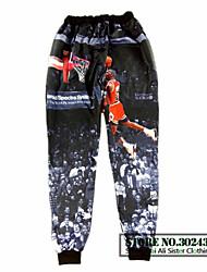 Alisister 2015 new fashon Autumn men/women joggers pants 3D print Jordan basketball pants Casual Harajuku jogging sweatpants
