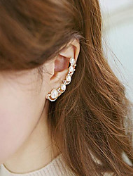 Drop Earrings Pearl Imitation Pearl Alloy Fashion Screen Color Jewelry 2pcs