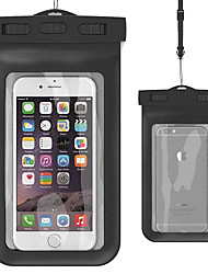 WB-01AJ  Waterproof Case with Matching ABS clip,Lanyard,Armband and Audio Jack for i6 Plus