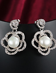 New Products Party/Casual Gold Plated Drop Earrings Beautiful jewelry
