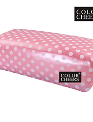 1PCS Pink Mano Cojín almohada manicura del arte rectangular