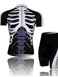 The Skeleton Northwave Riding Clothes Breathable Quick Dry Cycling Wear Short Sleeved Suit