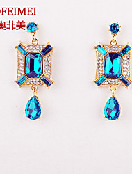 Korean Fashion Earrings vintage European and American female models jewel box diamond earring earrings species