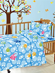 Blue Ocean Baby Bedding Set Cotton