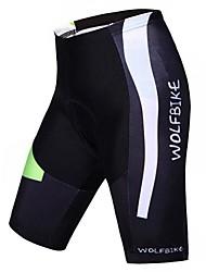 WOLFBIKE® Gepolsterte Fahrradshorts Herrn Atmungsaktiv / Rasche Trocknung / Videokompression FahhradShorts/Laufshorts / Hosen/Regenhose /