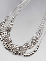 Promotion Sale Party/Work/Casual Silver Plated Statement Classical Design
