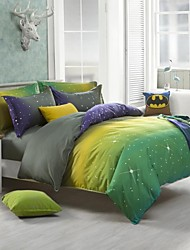 Mingjie Dream Star Sanding Bedding Sets 4pcs Duvet Cover Sets Bed Linen China Queen Size and Full Size