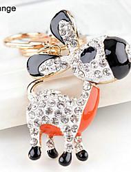 Donkey Rhinestone Wedding Keychain Favor