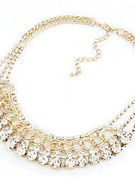 New Arrival Fashional Hot Selling High Quality Luxury Rhinestone Necklace
