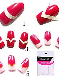 30 - Bijoux pour ongles - Doigt - en Punk - 7.7x10x0.2