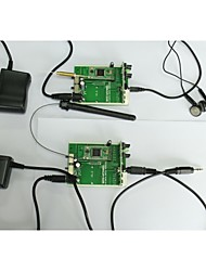 2.4g09 draadloze audio-zender-ontvanger modules, testen& Development Board, adapter, audio kabel en in-ear stereo