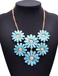 várias jóias colar de cor gema de jóias de moda feminina