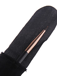 lashining feinen Liner Pinsel Eyeliner Pinsel Geschenk eine schwarze flannelette
