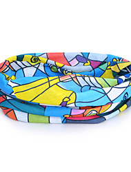 HLY-P836 Skating Pattern Outdoor Multifunctional Seamless Headscarf - Multicolor