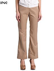 De las mujeres Pantalones Hasta la Bota - Para Trabajo Rígido - Poliéster
