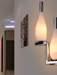 Crystal Wall Light with 2 Lights - Bottle Shaped Shade