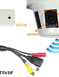 1080P Wifi Smoke CCTV Cameras Detector Hidden Network IP Security Camera WIFI IP Camera ONVIF Audio Pickup for 2.8mm